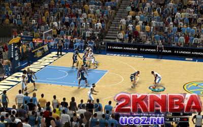NBA 2K13 Pepsi Center