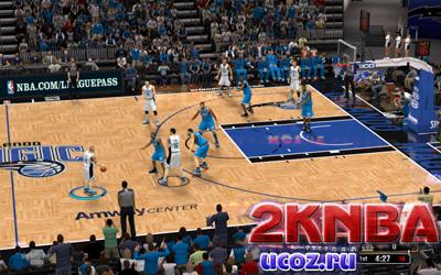NBA 2K13 Площадка Эмвей Центр