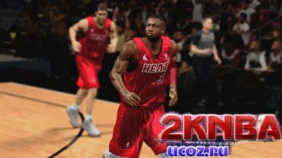 NBA 2K13 Форма Miami Heat