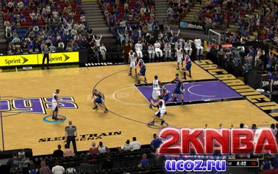 NBA 2K13 Слип Трейн Арена