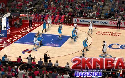NBA 2K13 Площадка Стэйплс Центр