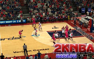 NBA 2K13 Площадка Веризон Центр