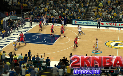 NBA 2K13 Площадка Bankers Life Fieldhouse