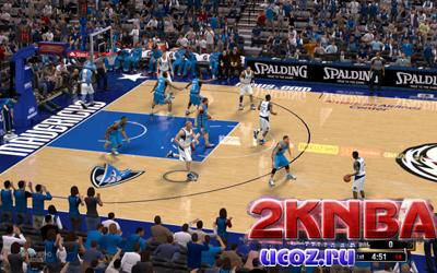 NBA 2K13 Площадка Американ Эйрлайнс Центр