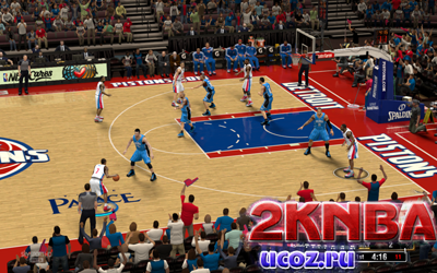 NBA 2K13 The Palace