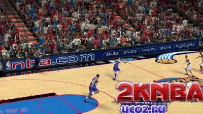 NBA 2K13 Площадка Philadelphia 76ers