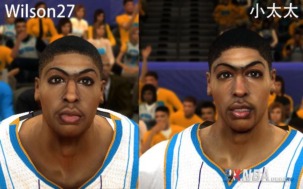 Лицо для NBA 2K12, которое изменит лицо Энтони Девиса, игрока сборной США и