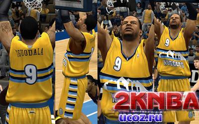 NBA 2K13 Форма Денвер Наггетс
